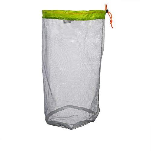Mesh-kordelzug-verschluss (Nylon Mesh Stuff Aufbewahrung Sack Kordelzug Mesh Tasche für Camping Wandern)