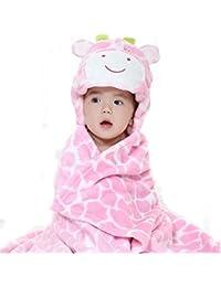 Toalla de Baño del Bebé, VSOAIR Los Niños los Bebés y las Chicas Toallas de Baño con las Manta ultra Suave Animal, 0-7 Años de Edad Rosado