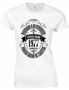 Camiseta para regalo de 40 cumpleaños para mujer Matured 1977
