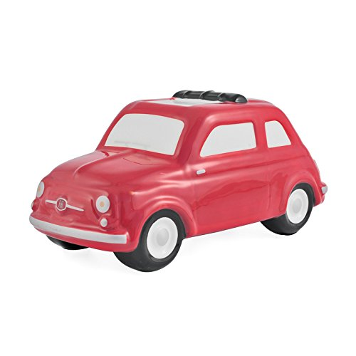 Preisvergleich Produktbild Offizielles Lizenzprodukt Fiat 500Große Spardose–Rot