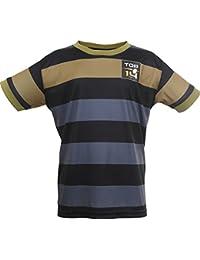 Top Brand Rugby Top 14lnr-se-6000N Mini-Kit Child, Black, FR: 14A (Manufacturer's Size: 14A)