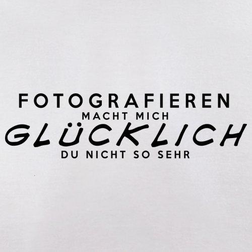 Fotografieren macht mich glücklich - Damen T-Shirt - 14 Farben Weiß