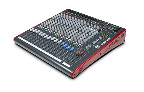 Allen & Heath ZED18 18channels 10 - 30000Hz Grey,Red audio mixer - Audio Mixers (18 channels, 10 - 30000 Hz, -127 dB, -86 dB, 48 kHz, 0.003%)