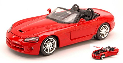maisto-mi31232-dodge-viper-srt-10-2003-red-124-modellino-die-cast-model