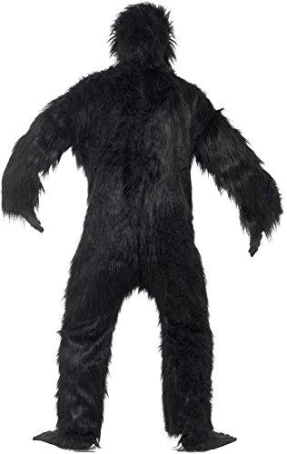 Imagen de smiffy's  disfraz de gorila para hombre, talla única 24230  alternativa
