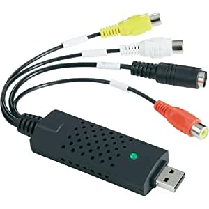 Video grabber Basetech BR 116 - USB 2.0 - Numérisation audio/vidéo via PC
