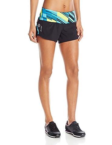 Zoot Pantalon de course pour femme PCH 7,6cm Short Multicolore XS Slice