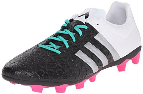 Adidas Performance Ace 15,4 FuÃ?ball-Schuh Black/Metallic Silver/White