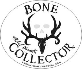 Bone Collector Unisex-Erwachsene Decal | White Logo | 6