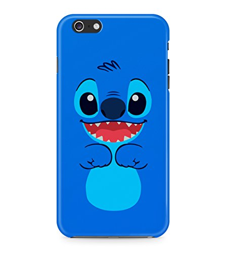 Lilo And Stitch Blue Hard Plastic Snap On Back Case Cover For iPhone 6 / 6s Custodia