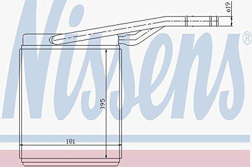 Nissens 71747 Wärmetauscher, Innenraumheizung