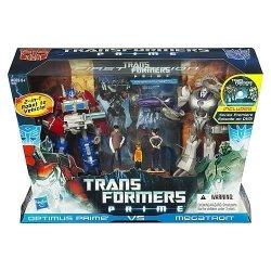Transformers Prime First Edition Optimus Prime Vs Megatron Entertainment Pack - Megatron-spielzeug Prime Transformer