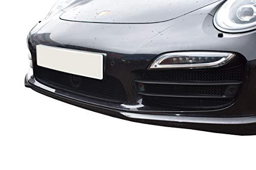 Zunsport Compatible avec Porsche Carrera 991.1 Turbo - Ensemble Calandre Integral (avec capteurs de stationnement) - Finition Noir (2011-2015)