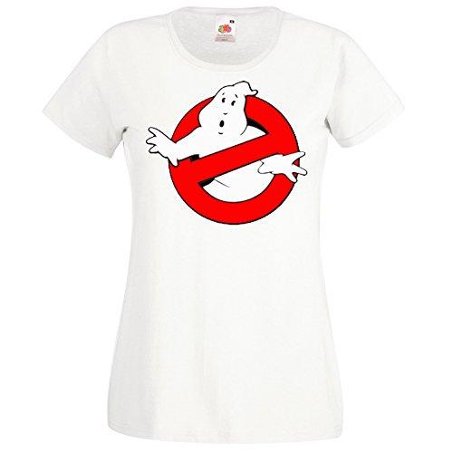 TRVPPY Damen T-Shirt Modell Ghostbusters Farbe Weiß Größe S