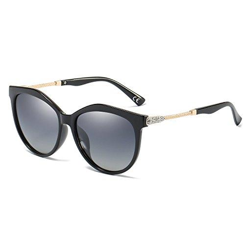 VeBrellen Oversized Moda Gafas De Sol Polarizadas