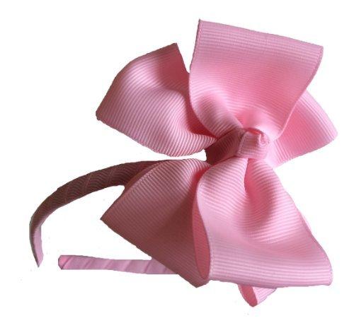 Superbe fait à la main rose bandeau/Alice bande/cheveux nœud