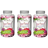 Nutrione cetona de frambuesa (raspberry ketone plus), 60 caps. (Pack 3u.)