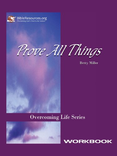 Prove All Things Workbook