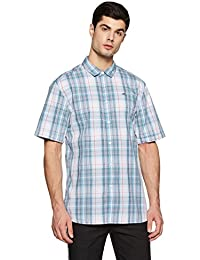 Tommy Hilfiger Men's Checkered Regular Fit Casual Shirt