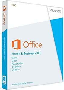 Microsoft Office Home and Business 2013, License Card, 1 User (PC)