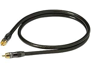 Real Cable ESUB/2M00 Câble Audio 1RCA M/M pour Caisson de basse