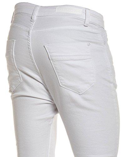 BLZ jeans - Pantalon blanc sarouel Blanc