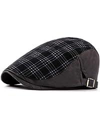 Gisdanchz Invierno Gorra para Hombre Mujer. Casual Mode Boina Irlandesa  Gatsby Algodón Sombrero 89ad1a49df7