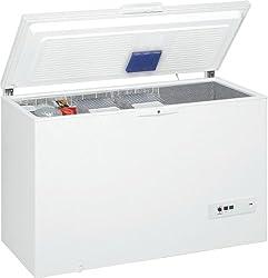 Whirlpool WHM39112 Gefriertruhe / A++ / Gefrieren: 390 L / Weiß / spAce+ / Supergefrieren