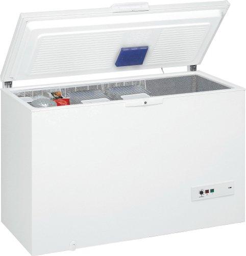 Whirlpool WHM39112 Gefriertruhe  A  Gefrieren: 390 L  Weiß  spAce  Supergefrieren