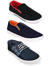 Scantron New Latest Fashionable With Stylish Attractive Look Men/Boys Combo Casual Trendy Shoes Comfortable To... - B07D3P7BXV