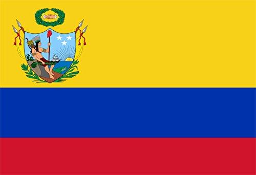 magFlags Bandiera Large Gran Colombia 1819-1820 | Gran Colombia utilizada desde 1819 hasta 1820, también conocida como Primer Pabellón 90x150cm