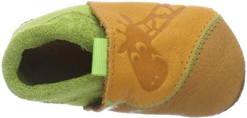 Pololo  Giraffe indiansummer/pistazie, chaussons d'intérieur garçon Marron - Braun (indiansummer/pistazie 432)