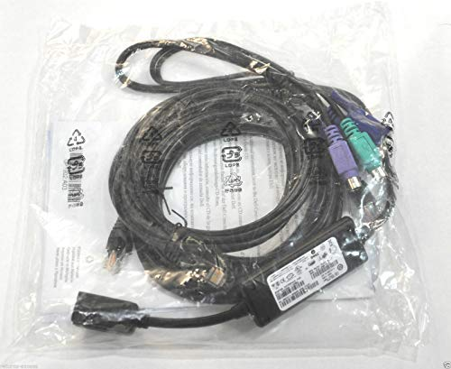 Dell SIP Server Interface Pod Cable , 1 x 7 Feet and 1 x 12 Feet Cat5  Cables, Dell P/Ns : FG696 , RF511