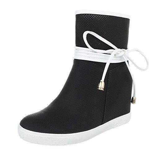 bac3dd3d9c646 ItalDesign , chaussures compensées femme Noir Jeu Amazon Sous € 59 ...