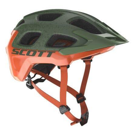 Scott Vivo Plus MTB Fahrrad Helm grün/orange 2019: Größe: M (55-59cm)