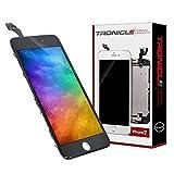 Tronicle iPhone 7 Schwarz Vormontiert Ersatzdisplay Komplettset Montagewerkzeug LCD Ersatz Touchscreen Glas Reparatur
