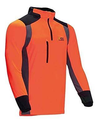 X-treme Skin Funktionsshirt, orange/grau, Größe 58/60