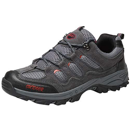 ABsoar Herren Sneakers Outdoor Mode Laufschuhe Freizeit Sportschuhe Atmungsaktive Joggingschuhe Verdickte Wanderschuhe Fußballschuhe Arbeitsschuhe