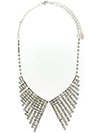 Sweet Deluxe Damen-Halskette Messing Ramira silber 2797