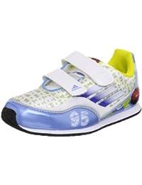 huge discount e9c2f 3bfc7 Adidas Disney Cars 2 I Scarpe da bambino in esecuzione , Bianco-gioia Blu-