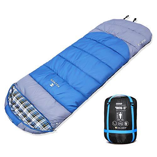 ZOMAKE Sacos de Dormir rectangulares para Acampada