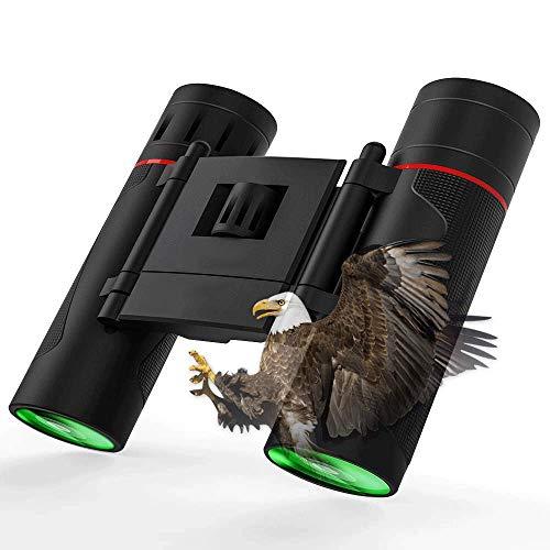 MMPY Ferngläser mit wasserdichtem und schwachem Nachtsichtgerät F Hochleistungs-Kompakt-Fernglas, Outdoor, Vogelbeobachtung, Wandern, Konzert