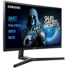 "Samsung C32HG70 - Monitor para PC (80 cm, 31.5"", 2560 x 1440 Pixeles, LED, 1 ms, 350 cd / m², Azul, Gris)"