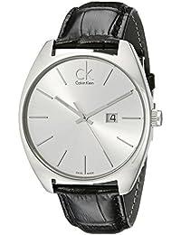 Calvin Klein Orologio da Uomo Analogico al Quarzo con Cinturino in Pelle – K2F21120