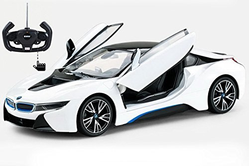 radio-control-model-car-1-14-bmw-i8-authentic-body-styling-w-open-doors-rc-vehicles-white-by-midea-t