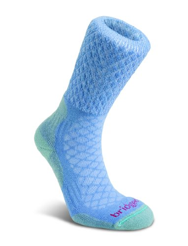 Bridgedale Merinofusion Wandersocken für Herren Powder Blue