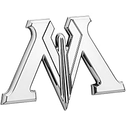 Ministerio de magia símbolo emblema, Harry Potter Premium 3d Automotive Logo adhesivo flexiona a Respetar totalmente coches camiones motocicletas portátiles casi nada (cromado)