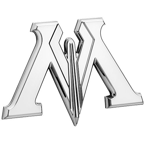 Fan Emblems Ministry of Magic 3D Auto Emblem Chrom, Harry Potter Automotive Aufkleber Abzeichen Flexes vollständig an Autos, Lastwagen, Motorräder, Laptops, Windows, fast alles zu haften