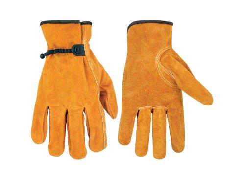 Split Rindleder Handschuhe (Kunys 2057l Split Rindleder Handschuhe Große Treiber)