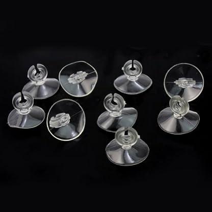 Pinzhi®New 20 Pcs Aquarium Fish Tank Suction Cups For Sucker Pads Heater Pipe Air Tube 4
